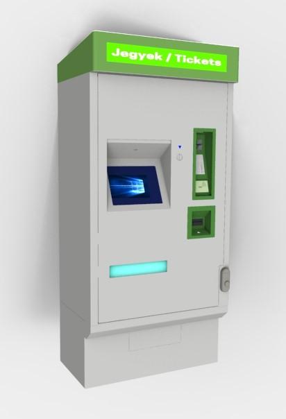 Ticketing Payment Cash Deposit Kiosk Kiosk Based And
